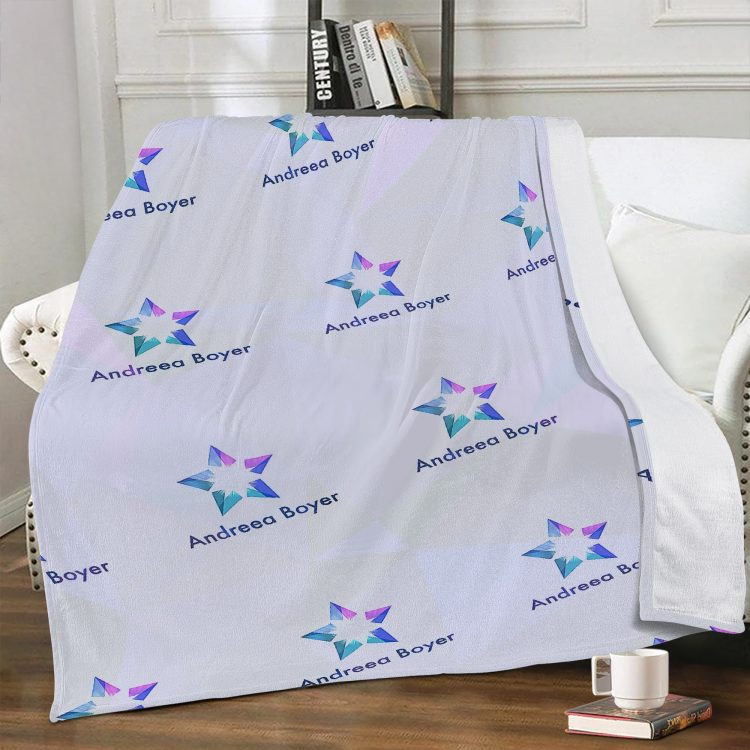 Dual-sided Stitched Fleece Blanket