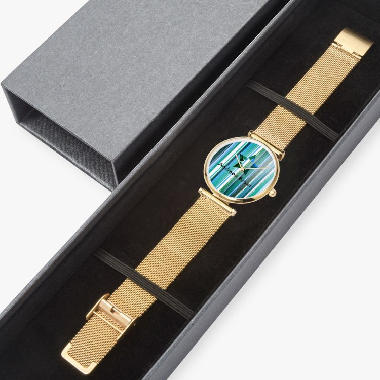 New Stylish Ultra-Thin Quartz Watch